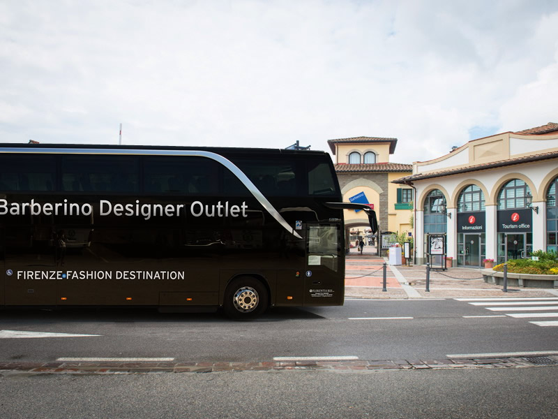 SHUTTLE BUS BARBERINO DESIGNER OUTLET | FLORENTIA BUS
